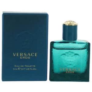 Versace Eros Men's 0.17-oz Eau de Toilette Spray for $9