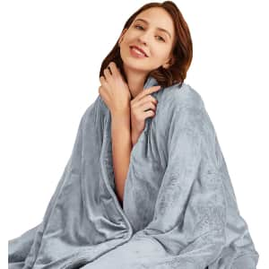 Hiseeme 18-Lb. Weighted Blanket for $20