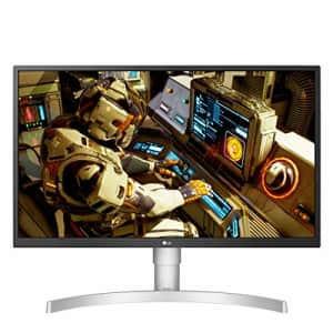 LG 27UL550-W 27 Inch 4K UHD IPS LED HDR Monitor with Radeon Freesync Technology and HDR 10, Silver for $371