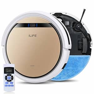 ILIFE V5s Pro 2, 2-in-1 Robot Vacuum and Mop, Slim, Automatic Self-Charging Robotic Vacuum, Daily for $180