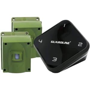 Guardline 0.25-Mile Driveway Motion Detector w/ 2 Sensors for $82