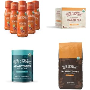 Four Sigmatic Coffee at Amazon: 25% off