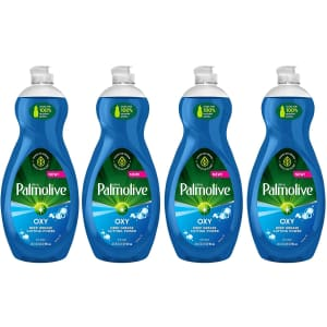Palmolive Ultra Dish Soap Oxy Power 32.5-oz. Degreaser 4-Pack for $11 via Sub & Save
