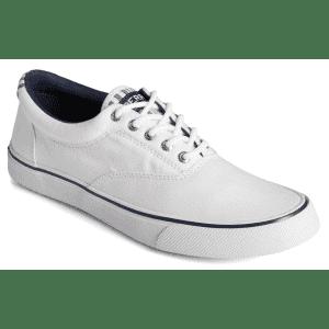 Sperry Men's Striper II CVO Washed Stripe Sneaker for $30