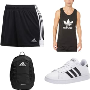 Adidas at Amazon: Up to 45% off w/ Prime