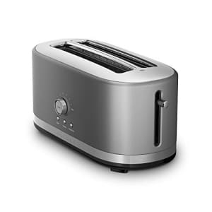 KitchenAid Toaster with High-Lift Lever KMT4116CU 4-Slice Long Slot, DAA for $130