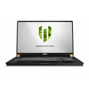 """MSI WS75 9TL-497 17.3"""" FHD Thin and Light Mobile Workstation Intel Core i7-9750H Quadro RTX 4000 for $3,499"""