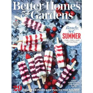 Better Homes and Gardens 2-Year Print Subscription: Complimentary
