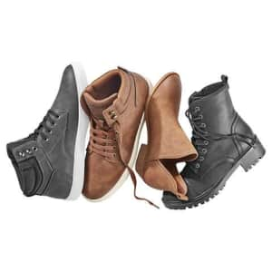 Adults' Boots for $15