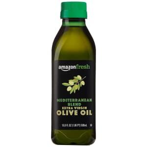 AmazonFresh 16.9-oz. Mediterranean Extra Virgin Olive Oil Bottle for $5