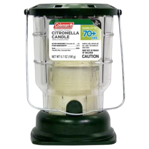 Coleman 70-Hour Citronella Candle Lantern for $7