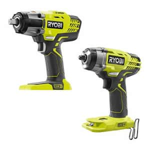 RYOBI P1935N 18-Volt ONE+ Cordless Combo Kit with 3-Speed 1/2 in. Impact Wrench and 3/8 in. 3-Speed for $188