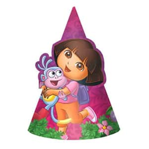 American Greetings Dora The Explorer Hats Party Supplies (8 Count) for $11