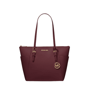 Michael Michael Kors Charlotte Large Saffiano Leather Tote for $99
