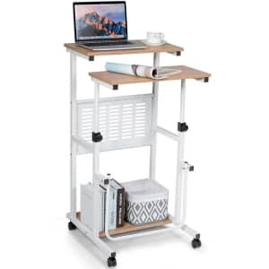 """35.8"""" Adjustable Stand Up Desk for $79"""