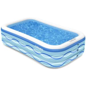 """Cooyes 118"""" Inflatable Pool for $46"""