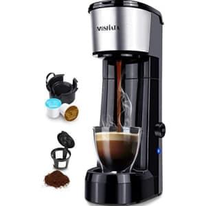 Mosfiata Single-Serve Coffee Maker for $30