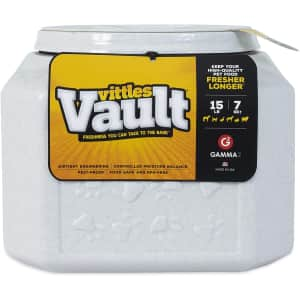 Gamma2 Vittles Vault Outback 15-lb. Airtight Pet Food Storage Container for $18