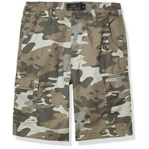 Lucky Brand Boys Shorts, Smoked Pearl Camo Cargo, 16 Big Kids for $24