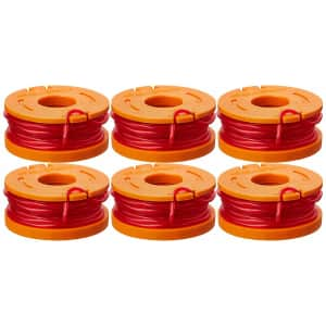 Worx Replacement Trimmer Line Spool 6-Pack for $7