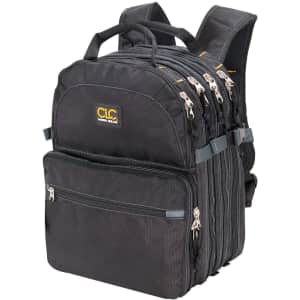 CLC 75-Pocket Tool Backpack for $84