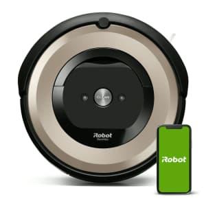iRobot Roomba E6 Robotic Vacuum for $153