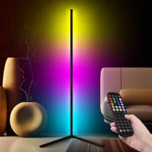 LED Corner Floor Lamp for $63