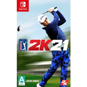 PGA Tour 2K21 for Switch, Xbox One, PS4 for $20