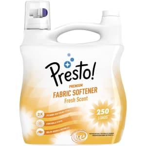 Presto! 100-oz. Concentrated Fabric Softener for $17