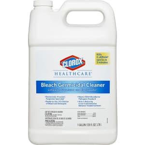Clorox Healthcare Bleach Germicidal Cleaner 128-oz. Refill for $27