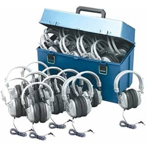 HamiltonBuhl Hamilton Buhl Lab Pack w/ 24 HA7 Headphones in Large Carry Case for $387