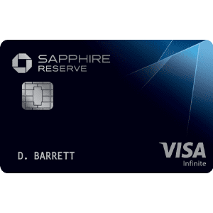 Chase Sapphire Reserve® Card: Earn 60,000 bonus points
