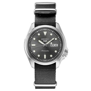 Seiko 5 Sports Stainless Steel Watch for $209