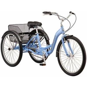 Schwinn Meridian Adult Trike, Three Wheel Cruiser Bike, 1-Speed, 26-Inch Wheels, Cargo Basket, for $849