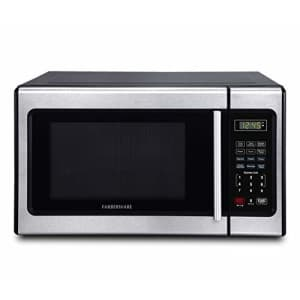 Farberware Classic FMO09AHTBKD Classic 0.9 Cu. Ft. 900-Watt Microwave Oven with LED Lighting, for $163