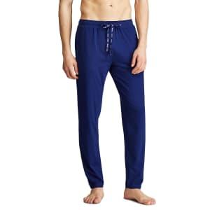 Polo Ralph Lauren Men's Lux Cotton Pajama Pants for $15