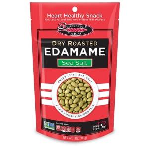 Seapoint Farms 4-oz. Sea Salt Dry Roasted Edamame 12-Pack for $13 via Sub & Save