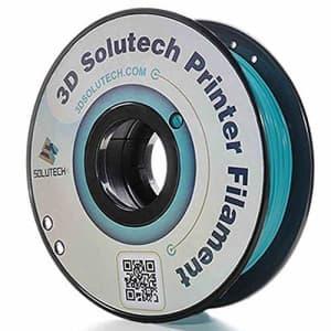 3D Solutech Teal Blue 3D Printer PLA Filament 1.75MM Filament, Dimensional Accuracy +/- 0.03 mm, for $26