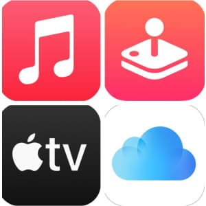 4-6 Month Apple Service Subscriptions: free w/ Target circle