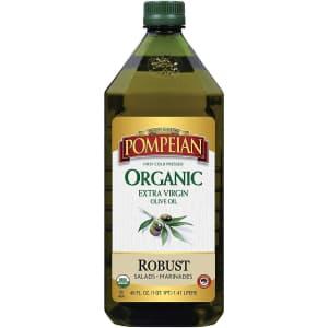 Pompeian 48-oz. Organic Extra Virgin Olive Oil for $10 via Sub & Save