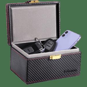 Ticonn Faraday RFID Signal Blocking Box for $13