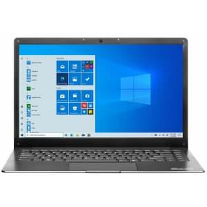"Evoo Ultra Thin Celeron Apollo Lake 14.1"" Laptop + 1yr Microsoft 365 for $170 in cart"