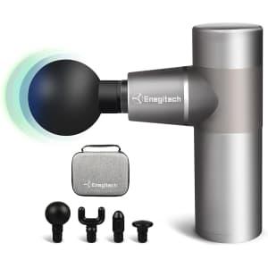 Enegitech Mini Massage Gun for $20