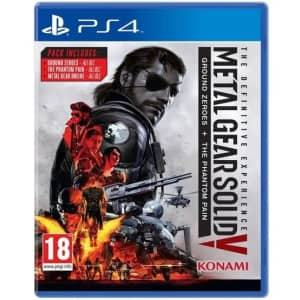 MGS V: Definitive Experience for PS4: $4.99