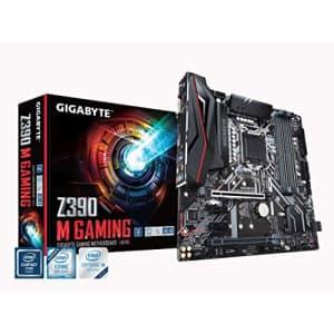 GIGABYTE Z390 M Gaming (Intel LGA1151/Z390/Micro ATX/M.2/Realtek ALC892/Intel GbE LAN/HDMI/Gaming for $340