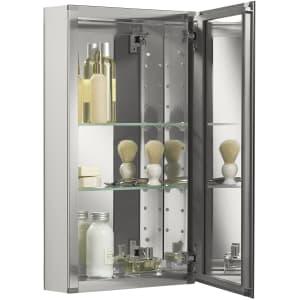 """Kohler 15"""" x 26"""" Mirrored Frameless Bathroom Medicine Cabinet for $130"""