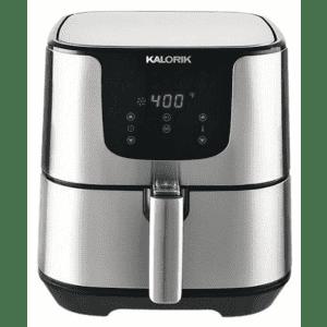Certified Refurb Kalorik Pro XL 5.3-Quart Digital Stainless Steel Air Fryer for $58