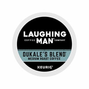 Laughing Man Dukale's Blend, Single-Serve Keurig K-Cup Pods, Medium Roast Coffee, 16 Count for $21