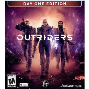Outriders Day One Edition for PS5 for $28