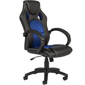 Best Choice Products Executive Racing Office Chair PU Leather Swivel Computer Desk Seat High-Back for $91